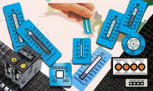 cintas de medición de temperatura